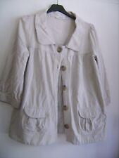 """Belle veste légère en jersey """"Comptoir des Cotonniers"""" beige taille L"""