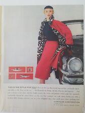1953 Chrysler Corporation Auto Nero Cappuccio Ornamenti Dodge Desoto Plymouth