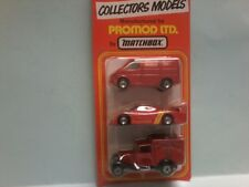 MATCHBOX 1/75  ROYAL MAIL collectors  SET OF 3 models MB60 & MB38 & MB46  in BP