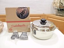 NEW SALADMASTER 4 QT STOCK POT & LID 316Ti TITANIUM STAINLESS WATERLESS COOKWARE