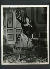 AVA GARDNER IN SPANISH COSTUME - 1958 THE NAKED MAJA