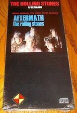 THE ROLLING STONES AFTERMATH ORIGINAL LONG BOX CD STILL SEALED 1986