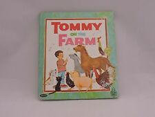 Whitman Tell A Tales 1968 Book Tommy on the Farm Childrens HC Animals Music Kids
