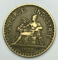 Dated : 1923 - France - One Franc - 1 Franc Coin - French Coin