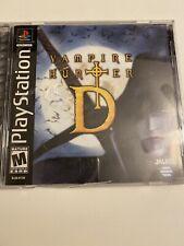 Vampire Hunter D  (Sony PlayStation, PS1)