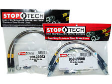 Stoptech Stainless Steel Braided Brake Lines (Front & Rear Set / 35003+35500)