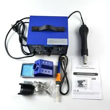 700W 110V 862D+ 2in1 Power Supply SMD Soldering Rework Station Hot Air Gun