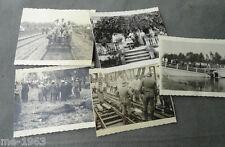 original Foto POLEN  1939  5  Bilder   bei  Lublin
