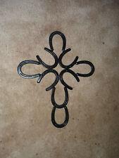 Horseshoe decorative cross