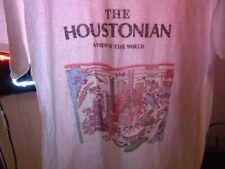 New listing 80s M/L Vtg Houston Texas Houstonian Map City soft thin single stitch t-shirt