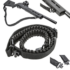 Tactical 550 Paracord Rifle Gun Sling Shotgun Crossbow 2 Point Adjustable Swivel