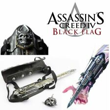 ASSASSIN'S CREED 4 IV BRACCIALE GAUNTLET LAMA CELATA EDWARD KENWAY MEDIEVAL ARMA