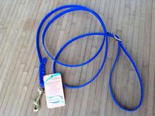 Laisses longes bleus pour chien