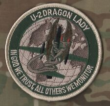 Dragon Lady Haute Altitude Espion Plan Patch : In God We Trust Toutes D'Autres