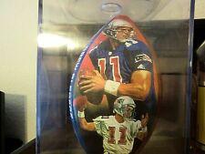 Drew Bledsoe NFL Full Size Photo Football Autographed Signed Signature Patriots