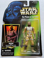 NEW Star Wars POTF Bossk Action Figure with Blaster Kenner Hasbro 1996