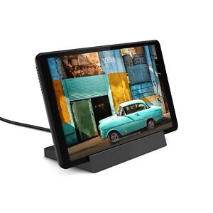 """NEW LENOVO SMART TAB M8 8"""" 2-IN-1 TABLET + DOCK 32GB WITH GOOGLE ASSISTANT- GRAY"""