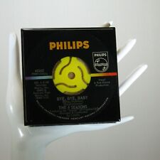 The 4 Seasons -  Drink Coaster Made with The Original 45 rpm Record