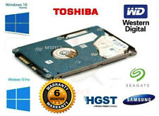 "2.5"" HDD 1TB SLIM LAPTOP HARD DISK DRIVE PRE INSTALLED WINDOWS 10 HOME OR PRO"