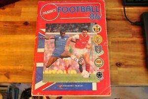 Panini Football 86 1986 Sticker Album 100% Complete good condition