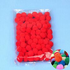 100PCS/Lot 20 Colors 15MM Pompoms Soft Pom Poms Balls For Wedding Decoration