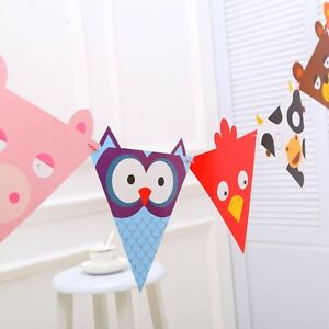 Animal Bunting,Kids Party Bunting,Cute Animals,Bunting for Nursery,Playroom