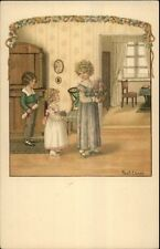 Pauli Ebner Well-To-Children Series #1350 c1910 Postcard #3