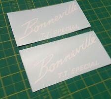 TRIUMPH Bonneville 650 TT T.T Groupe spécial/Boîte à outils/TANK decals stickers