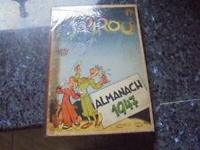 belle almanach spirou 1947