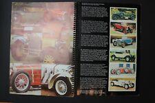 Craven Black Cat Vintage Cars Tobacco trading card complete set 50 in book album