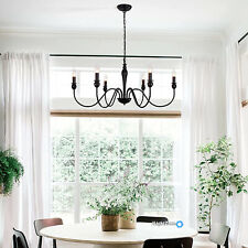 Rustic Chandelier French Country Farmhouse Lighting Dining Room Light Fixture US