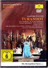 DVD: PUCCINI TURANDOT Eva Marton Placido Domingo LEVINE Leona Mitchell Plishka