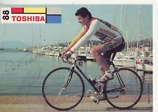 CYCLISME  carte cycliste YVON MADIOT équipe TOSHIBA 1988 signée
