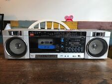 JVC 4-Band Stereo Portable Component System PC-70JW Cassette Player Boombox