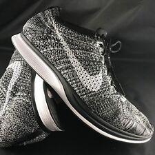 eadbfb2462ee Nike Flyknit Racer  Oreo  526628-012 White   Black Men s Size ...