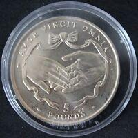 1997   Gibraltar £5 Five Pounds Coin   Virenium   Coins   KM Coins