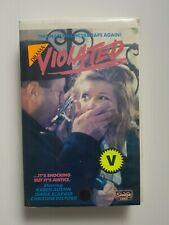 Violated. Movie. VHS tape (1986)
