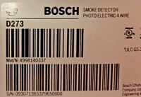 (NEW) BOSCH D273 - 4-WIRE PHOTOELECTRIC DETECTOR