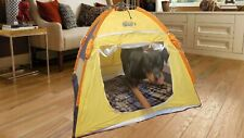 Easy Pet Dog Folding Pop-up Portable Tent Travel Indoor/Outdoor Playhouse Med-Lg