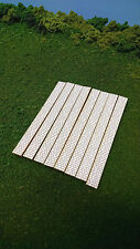 N Scale ** Laser Cut **  Cobblestone Sidewalks - 360 Scale Feet