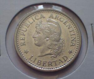 ARGENTINA 1957 peso nice condition