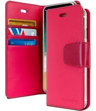 iPhone 6 6s 6 Plus 6s Plus Goospery Sonata Diary Hot Pink Flip Case Wallet Cover