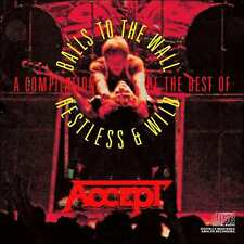 ACCEPT : COMPILATION: RESTLESS & WILD & BALLS TO THE WALL (CD) sealed