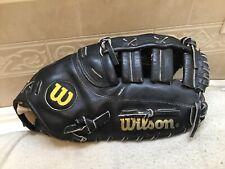 """Wilson A2850 12.75"""" Baseball Softball First Base Mitt Right Hand Throw"""