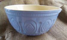 Pale blue/cream mixing bowl not Mason Cash