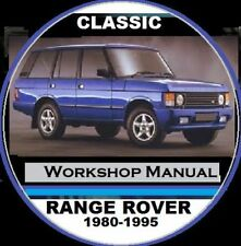 Land Rover CD Car Service & Repair Manuals