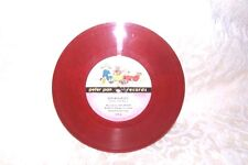 Goldilocks Peter Pan Records 119A Red Vinyl Record