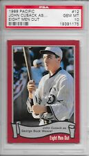 JOHN CUSACK 1988 PACIFIC Eight Men Out Movie ROOKIE WHITE SOX CARD 12 PSA GEM 10