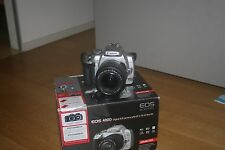 Camera Canon EOS 400D reflex digital + objective 18-55 + box + 2GB 350 d