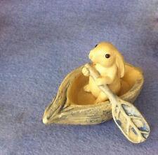 Chinese Yixing handmade zisha pure clay tea pet Rabbit Boating duan ni